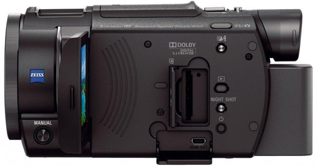 test et avis complet camescope numérique Sony FDR RAX33