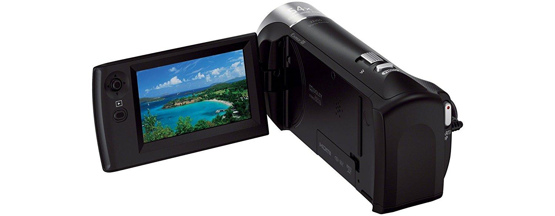 test et avis complet camescope numérique Sony HDR-CX240