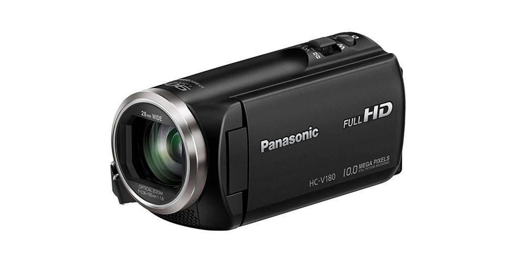test et avis complet camescope numérique Panasonic HC-V180