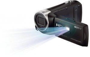 projecteur camescope numérique connecté Sony HDR-PJ410