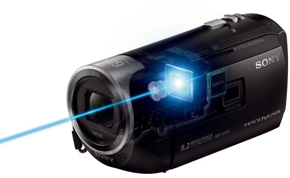 processeur camescope numérique connecté Sony HDR-PJ410