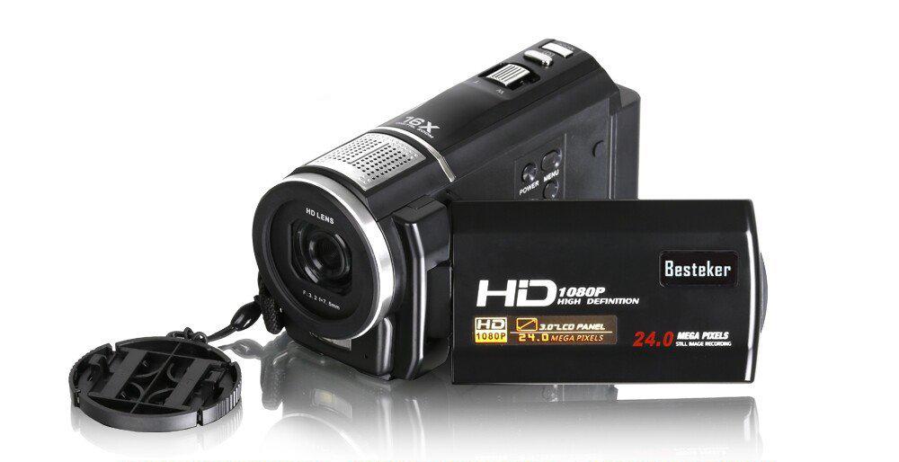 test et avis complet camescope pas cher Besteker FHD 1080p