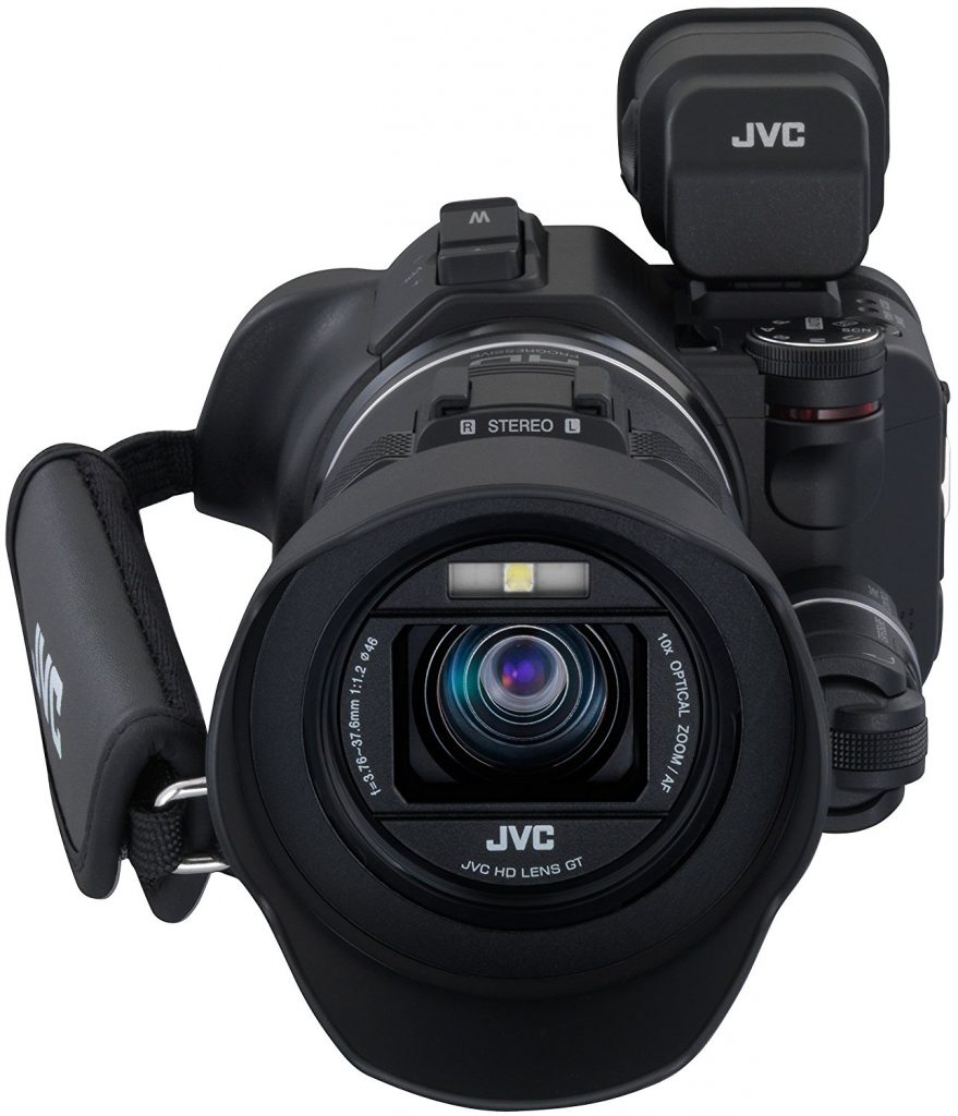 test et avis complet camescope numérique JVCGC-PX100BE capteur