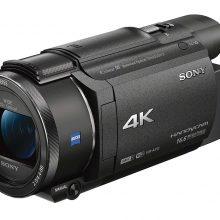 test et avis complet camescope 4K haut de gamme Sony FDR-AX53