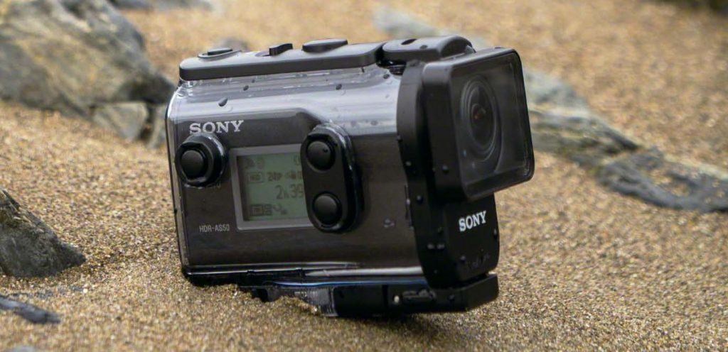 camera action sony hdr as-50