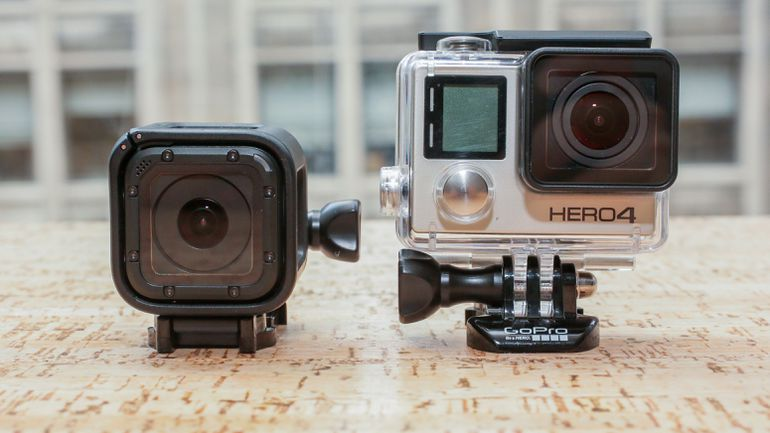 tailles et poids gopro camera action
