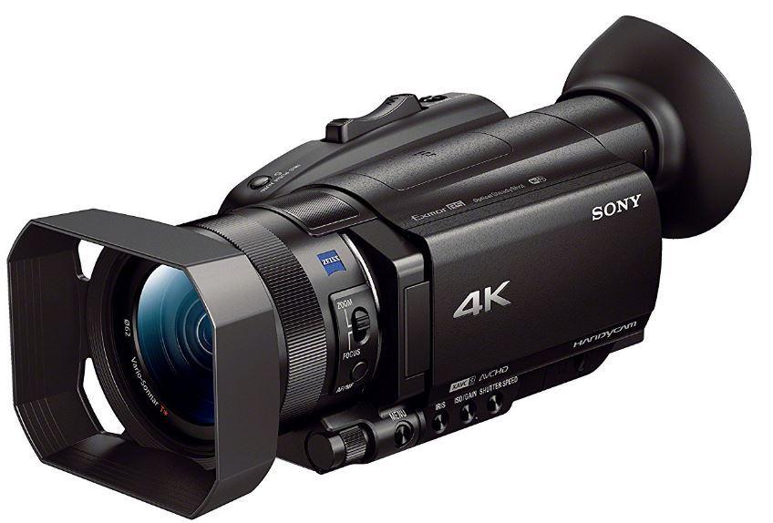 avis camescope 4k Sony FDR-AX700